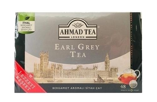 Ahmad Tea Earl Grey Bergamotlu Demlik 48Li