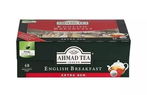 Ahmad Tea English Breakfast Demlik 48Lik
