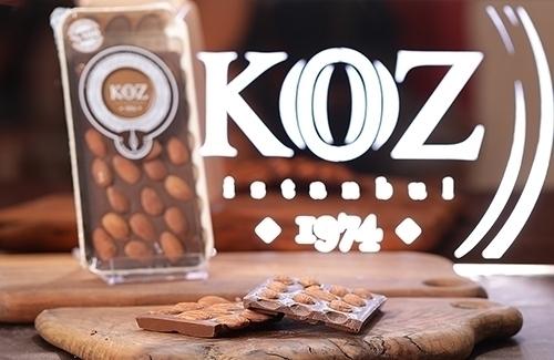 Bademli Sütlü Tablet Çikolata 120Gr