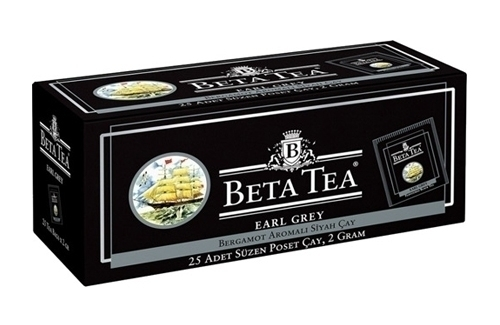 Beta Tea Earl Grey Poşet 25Lik
