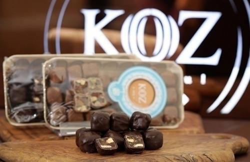 Bitter Çikolata Kaplı Antep Fıstıklı Lokum 290gr