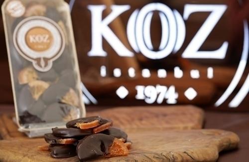 El Yapımı Çikolata Kaplı Bitter Dilim Portakal 175gr