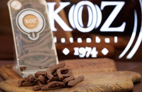 El Yapımı Sütlü Çikolata Kaplı Şerit Portakal 165gr