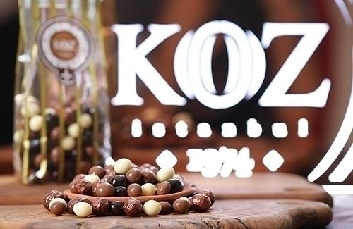 Kahveli Draje Çikolata 200Gr