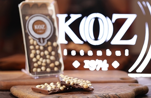 El Yapımı Piccola Fındıklı Sütlü Tablet Çikolata 130Gr
