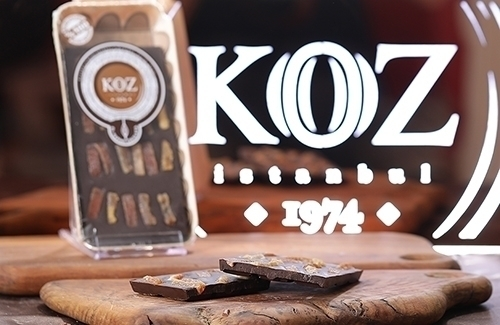 Portakallı Bitter Tablet Çikolata 105Gr
