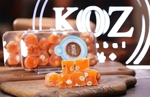 Portakallı Fındıklı Lokum 350Gr